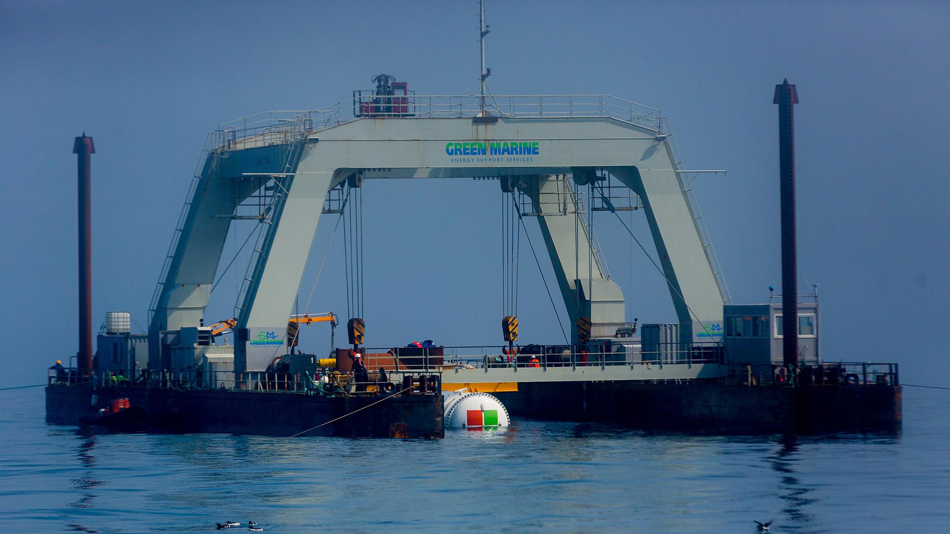 Microsoft's Project Natick sea