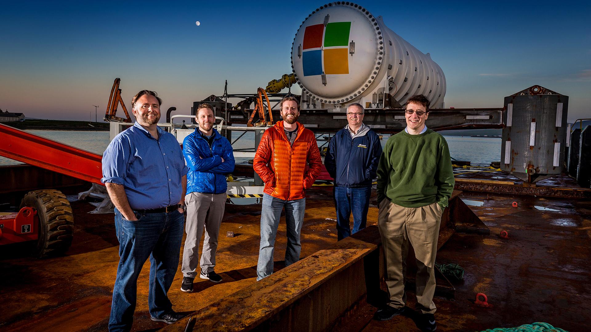Microsoft's Project Natick TEAM