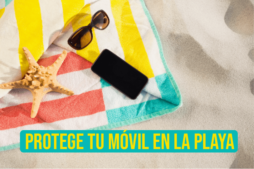 Trucos para proteger tu smartphone en la playa